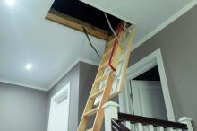 pull down ladder to attic