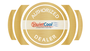 QuietCool Authorized Dealer for Whole House and Attic Fans Logo