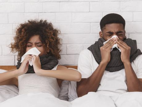sneezing and allergies in my home